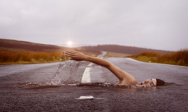 THE DANGERS OF THE DRY LAND SWIMMER